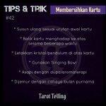 Membersihkan Kartu Tarot Dalam 6 Langkah
