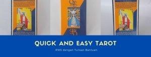 10 Kartu Tarot Mudah Untuk Pemula : Quick and easy tarot