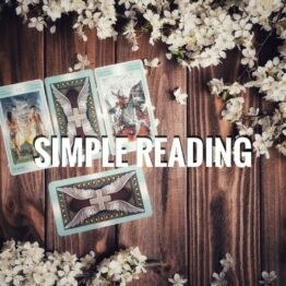 Simple reading tarot telling